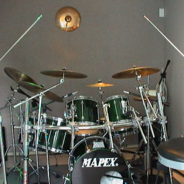 7 piece Mapex Recording kit