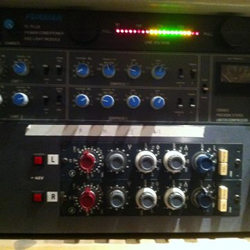 Neve Pre Amps and Compressors